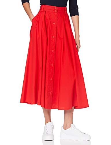 United Colors of Benetton Gonna Falda, Rojo (Rosso 005), Medium para Mujer