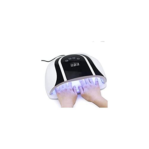KSDCDF LED UV Lámpara de uñas, luz Profesional de Gel de Secadora de uñas, UV Luz de Clavo con 4 Ajuste del Temporizador, Gel de curado de Esmalte de uñas DIRIGIÓ Secadora, Herramientas Profesionales