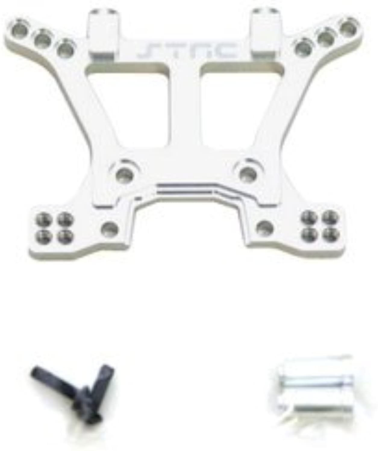 ST Racing Concepts ST6839S Aluminum Heavy Duty Front Shock Tower for Slash 4x4, Silver