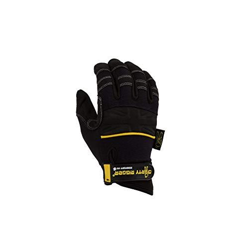 Dirty Rigger Rigger Rigging-Handschuhe, bequeme Passform, Größe L