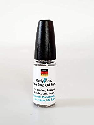 Precision Clipper Oil Pen- Dropper Oiler Lubricant for Clippers Shavers Metal Instruments 12ml. by Body4Real
