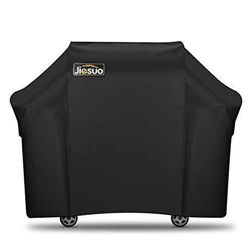 JIESUO Weber Genesis - Funda para barbacoa de gas (resistente al agua, 60 pulgadas, 3 quemadores, resistente a la intemperie y a los rayos UV)