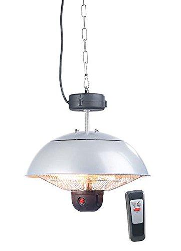 Semptec Urban Survival Technology Terrassen Heizung: Infrarot-Decken-Heizstrahler m. Fernbed, 800-2.000 Watt, LED, IPX4 (Infrarotlampe)
