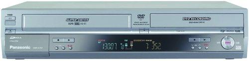 Panasonic DMR-EH75VS DVD Recorder / VCR Combo with 80GB Hard Drive, HDMI, SD Card, and DV Input