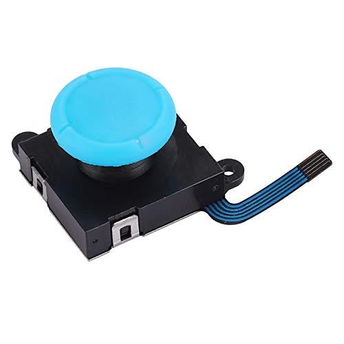 FOLOSAFENAR Joystick Rocker de Buena compatibilidad Izquierda y Derecha Nuevo analógico para Accesorio de Consola de conmutación(Blue Hat II)