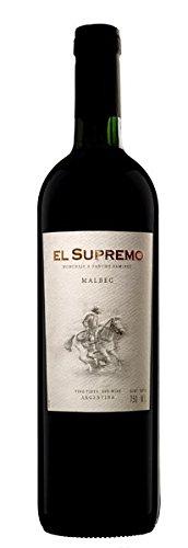 El Supremo - Vino Tinto Malbec - Mendoza Argentina - 750 Ml