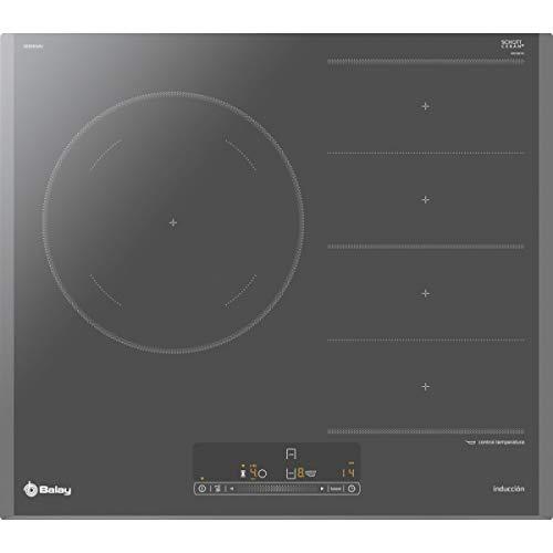 Balay 3EB969AU Kochfeld Titan Eingebaut mit Induktionsplatte, 3300 W, rechteckig, 210 x 400 mm