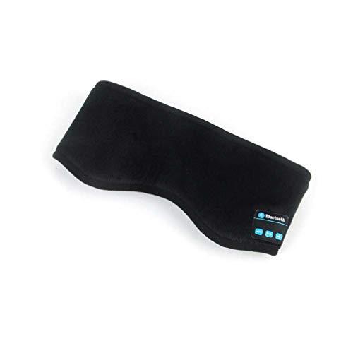 Schlafen Kopfhorer 3D Augenmaske Wireless Stereo Bluetooth Kopfhörer Schlaf Maske 5,0 Bluetooth Schlaf Soft Ohrhörer Unterstützung Freisprecheinrichtung Schlafen Augen Maske,Schwarz