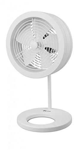 Air Naturel Naos - Ventilatore da tavolo, bianco, NAOS0001
