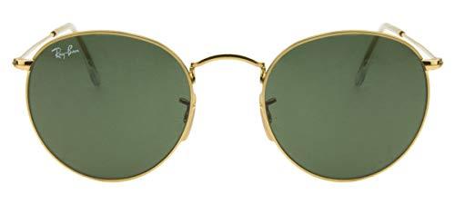 Óculos de Sol Ray Ban Round Metal RB3447L 001-50