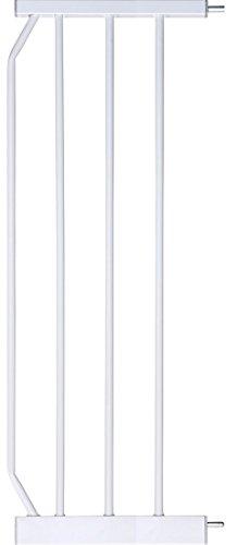 IB-Style - Verlängerungen/Erweiterungen/Zubehör für Tür- und Treppenschutzgitter MIKA BERRIN KAYA Weiß | 4 Längen | 30cm