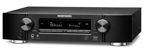 Marantz Nr1710 7.2-Kanaals Av-Receiver, Hifi-Versterker (Heos Multiroom, Muziekstreaming, Airplay 2, Bluetooth, Wifi, Wifi, Dolby Atmos, 8 Hdmi-Ingangen, Alexa Compatibel)