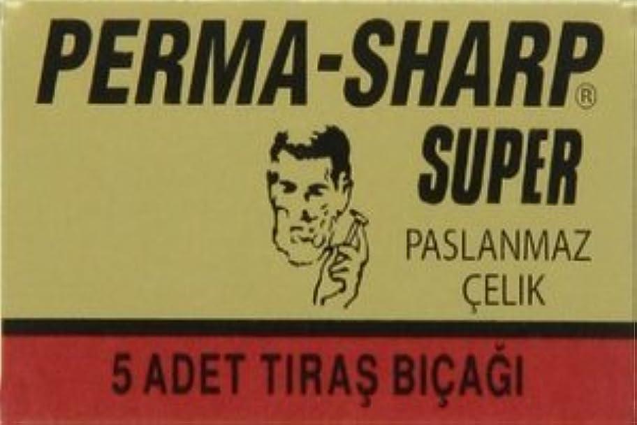 陰謀打倒歯科医Perma-Sharp Super 両刃替刃 5枚入り(5枚入り1 個セット)【並行輸入品】