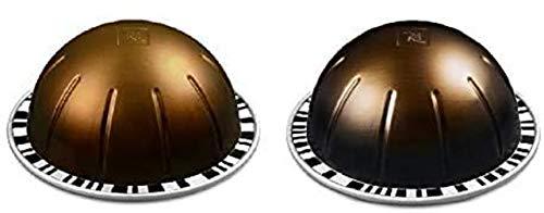 Brand New Nespresso Vertuo Double Espresso Selection Long Expiry Coffee Pods Capsules Chiaro Scuro 20 Pods 2 Sleeves