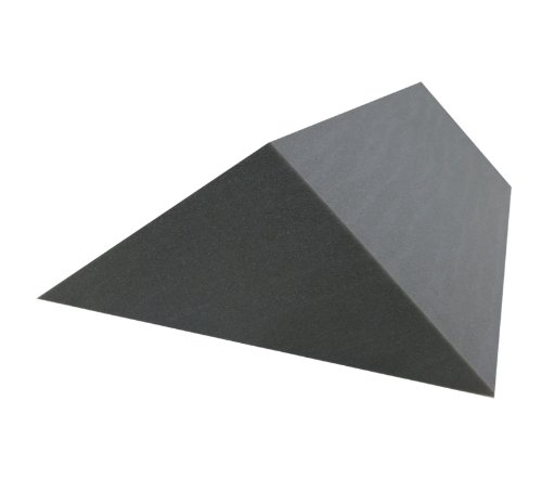 2 St. Bass-Trap/Absorberelement, 89cm x 30cm x 30cm x 42,5cm, Kantenabsorber bzw. Tiefenabsorber, Akustikschaumstoff