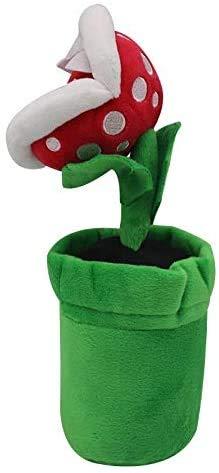 JIAL TEDS 1 UDS 26 cm Super Mario Bros Piranha Pflanze Teddy Spielzeug Super Mario Spielzeug Spielzeug Soft Toy Geschenke für Kinder Chongxiang (Color : Default)