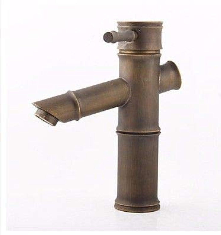 TS-nslixuan Sink taps High Quality Solid Copper Antique Slub Design Basin taps