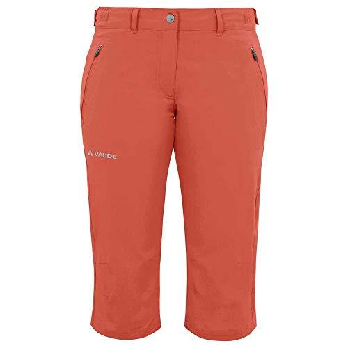 VAUDE Farley Pantalon Stretch Capri II pour Femme XL Hotchili