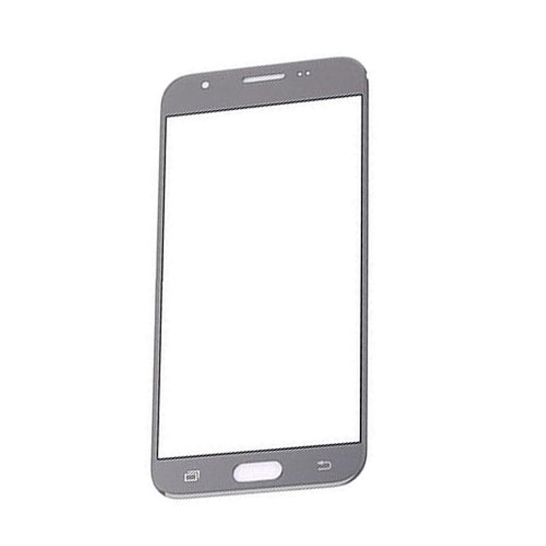 Outer Front Screen Glass Lens Replacement for Samsung Galaxy J3 2017 Prime SM-J327 J3 Amp Prime 2 SM-J327AZ Gray