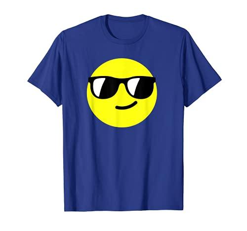 Smiley Sunglasses Face T-Shirt