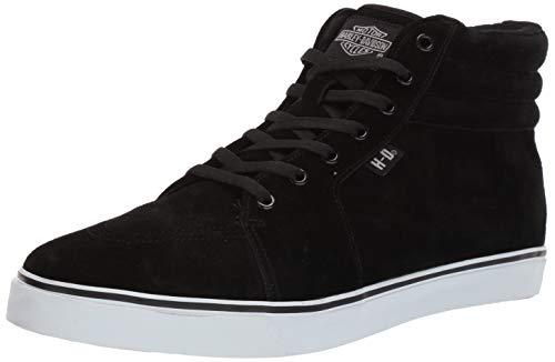 HARLEY-DAVIDSON FOOTWEAR Zapatillas Scott para hombre, negro (Negro), 46 EU