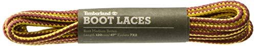 Timberland Boot Lace 47-inch Schnürsenkel, braun (Medium Brown), Einheitsgröße (120 cm)