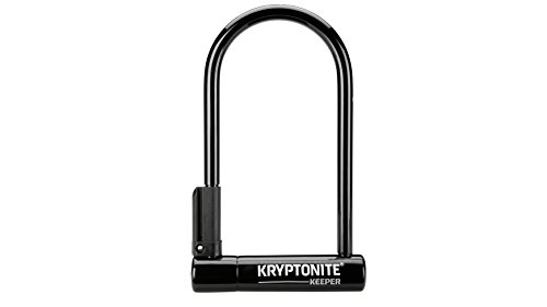 Kryptonite Keeper Standard 12mm U-Lock Bicycle Lock with FlexFrame-U Bracket