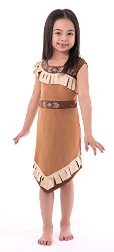 Little Adventures Woodland Princess Dress Up Costume for Girls (Large Age 5-7)