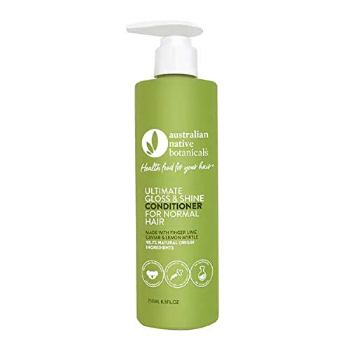 Australian Native Botanicals Natural Conditioner For Normal Hair - Vegan Sulfate Free Conditioner For Men & Women - Natural Hair Care, 250 ml