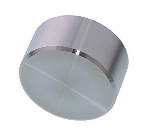 foto-kontor Abschlusskappe passend für Heimeier Thermostat Gewinde M30x1,5 Ventil Endstück, Heizkörperventil Abschluss, Edelstahl