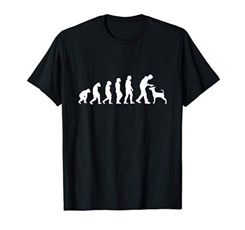 Regalo para el dueño del perro, evolución del perro, amante Camiseta