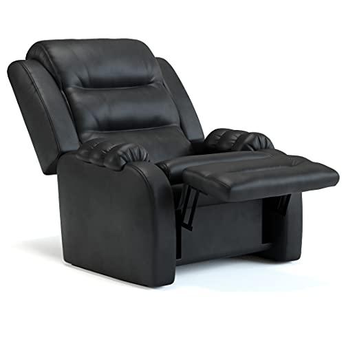 Poltrona do papai reclinável Dublin Corino preto