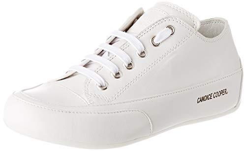 Candice Cooper Damen Rock Sneaker, Weiß (Bianco Crust), 43 EU