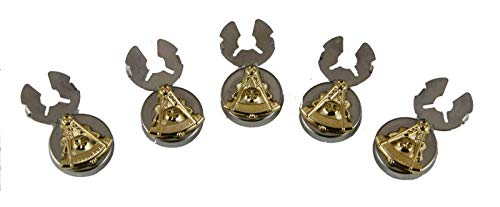 4031885 Past Master Two Tone Button Covers Formal Dress Mason Freemason Masonic Formal Dress