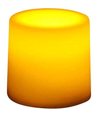 12 Luci LED Decorative Ambra, Lumini Candele da Tavolo a Batteria per Camera, Decorazioni, Festa, Matrimonio di PK Green