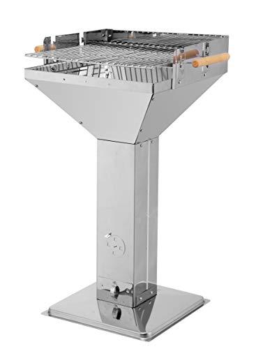 Tepro Vista - Barbecue (Acciaio Inox, Rettangolare, in Acciaio Inox, 61,5 cm, 48 cm, 90,5 Centimetri)