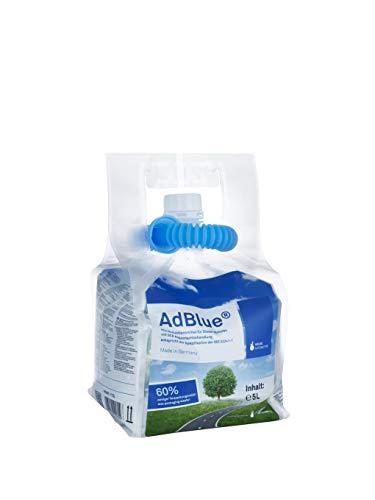 A&G-heute AdBlue 5l Hochreine Harnstofflösung im Standbeutel mit Ausgießer weniger Plastik
