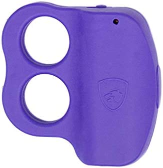 Guard Dog Stun Gun for self Defense with LED Flashlight Purple product image