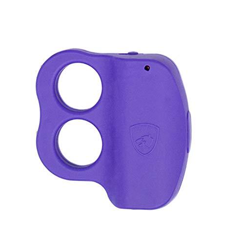 Guard Dog Stun Gun for self Defense with LED Flashlight - Purple