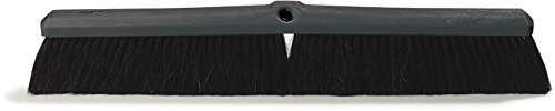 Best Deals! Carlisle 4056100 Foam Floor Sweep, Blended Horsehair Bristles, 3 Trim x 2-5/8 Width Br...