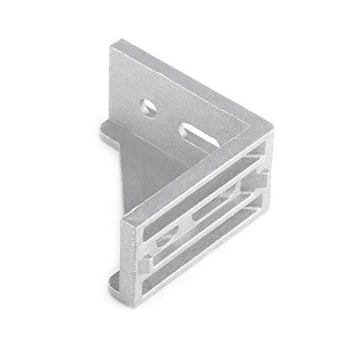 Soporte de esquina en forma de L soportes de esquina 5 uds 3060 ángulo recto 5 uds 3060 aluminio para estante de mesa de escritorio