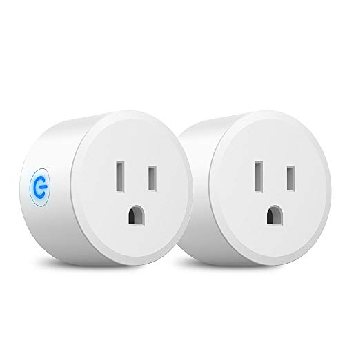 Smart Plug,DOGAIN Zigbee Smart Plugs Outlet Works with SmartThings and Amazon Echo Plus Hub Voice Control Compatible with Alexa and the Google Assistant (Hub Required)(2 Pack)