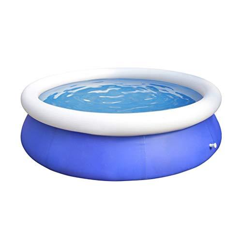 Inflatable Pools Runde aufblasbarer Swimmingpool, große privater Pool for Familien Eltern-Kind Spaß Planschbecken Sommer Spielzeug Pool (Size : 240 * 63cm)