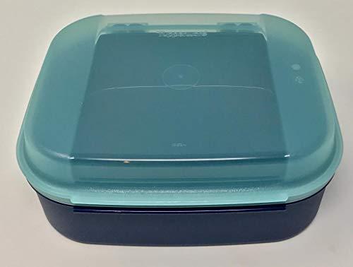 Tupper TUPPERWARE Naschkätzchen 1,7 Liter blau türkis Aqua pink Bellevue Dose Vorrat Apollo Royal