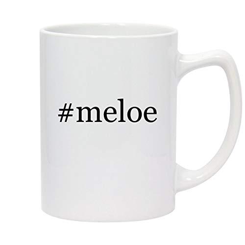 #meloe - 14oz Hashtag White Ceramic Statesman Coffee Mug