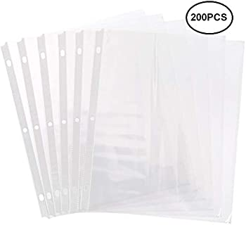 Sheet Protectors 8.5 x 11 Top Loading Page (Size 200-PCS)