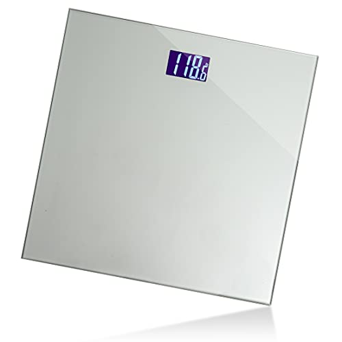 Digital Body Weight Bathroom Scale Smart Scale Step-on Technology with Easy Read LCD (Up to 400 Pounds) Perfect Digital Home Scale, Highly Accurate Scale for Body Weight by Moss And Stone
