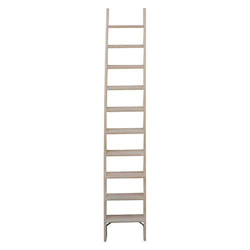 Scala in legno per soppalco: gradini profondi 8cm