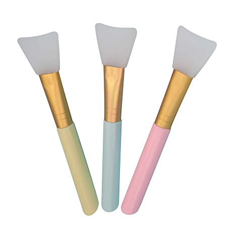 Pinceau Masque Visage, Masque facial Brosse Silicone Pinceau,Facial Silicone Pinceaux Masque Boue Outil de bricolage Lotion pour le corps Fondation Br