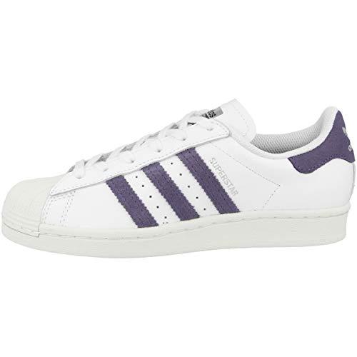 adidas Originals Superstar - Zapatillas para mujer, color blanco, color Blanco, talla 42 EU